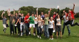 Gruppenevent Fallschirmspringen Tandemsprung