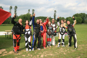 Gruppenevent Tandemsprung Klatovy 22