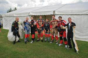Gruppenevent Tandemsprung Klatovy 25 Fallschirmspringen