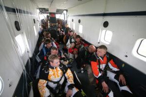 Gruppenevent Tandemsprung Klatovy 30 Fallschirmspringen