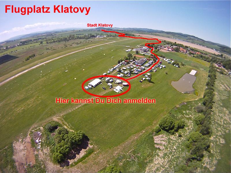 Klatovy / Klattau Nahe Furth im Wald Flugplatz Tandemsprung 1