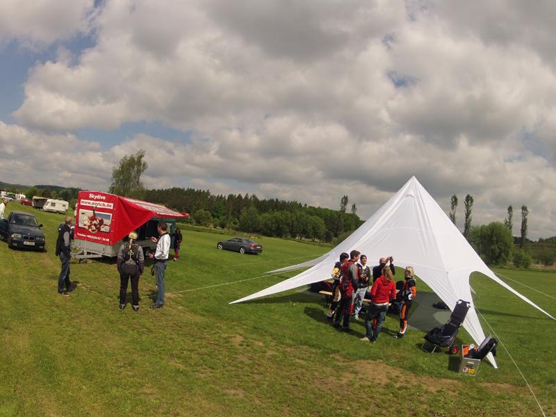 Klatovy / Klattau Nahe Furth im Wald Flugplatz Tandemsprung 3