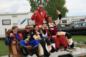 Gruppenevent Fallschirmspringen Klatovy Tandemsprung 4