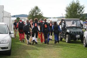 Gruppenevent Fallschirmspringen Klatovy Tandemsprung 6