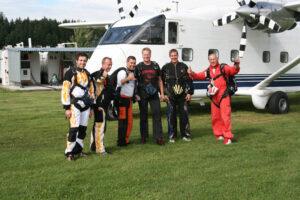 Gruppenevent Fallschirmspringen Klatovy Tandemsprung 7