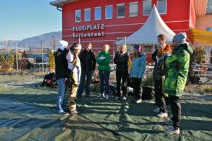 Gruppenevent Fallschirmspringen Zell am See 7