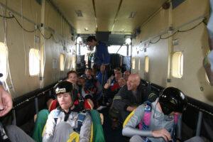 Gruppenevent Tandemsprung Klatovy 5