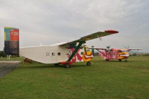 Skyvans bunt in Klatovy
