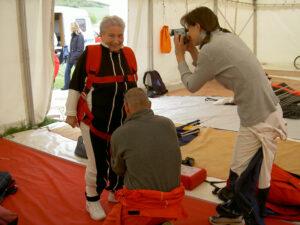 Tandemsprung Klatovy Agnes im Alter von 79 Jahren 1