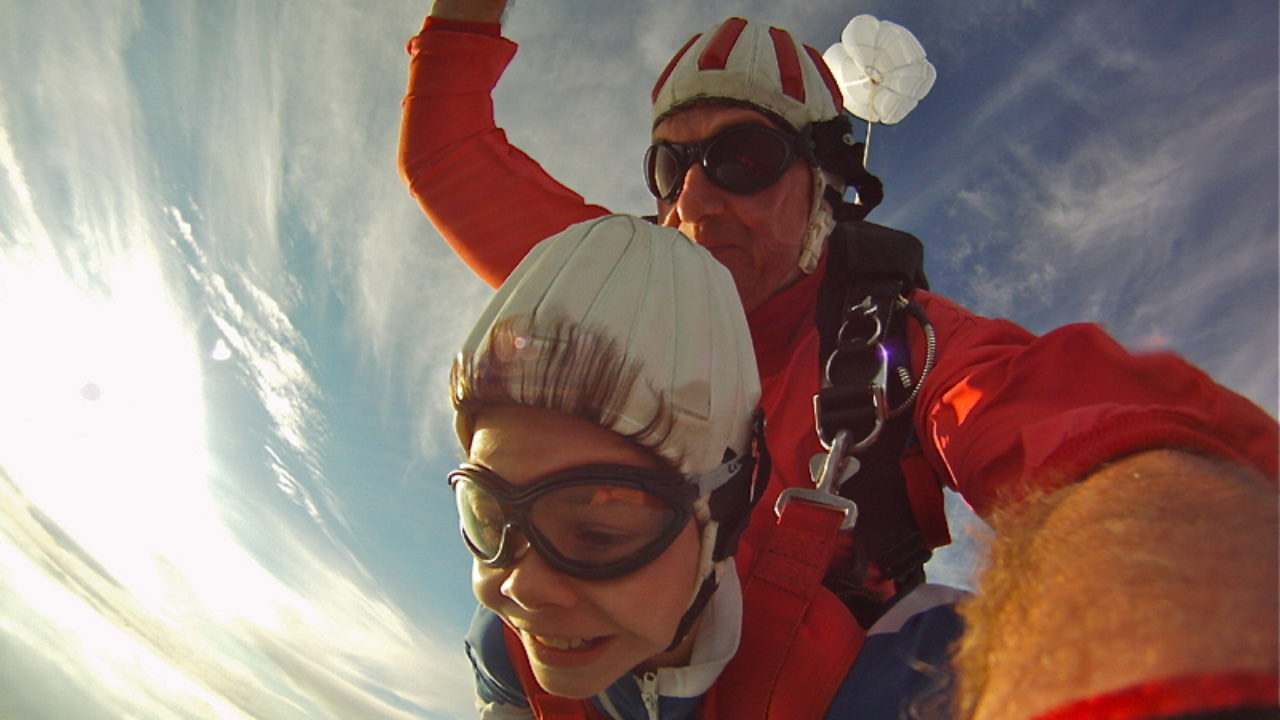 Fallschirmspringen Mit Kindern