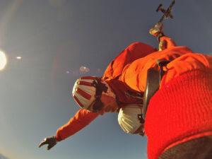 Tandemsprung Zell am See Fallschirmspringen Österreich 3
