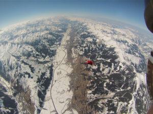 Tandemsprung Zell am See Fallschirmspringen Österreich 10
